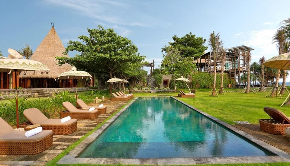 Waka Gangga Resorts Bali - Kolam Renang