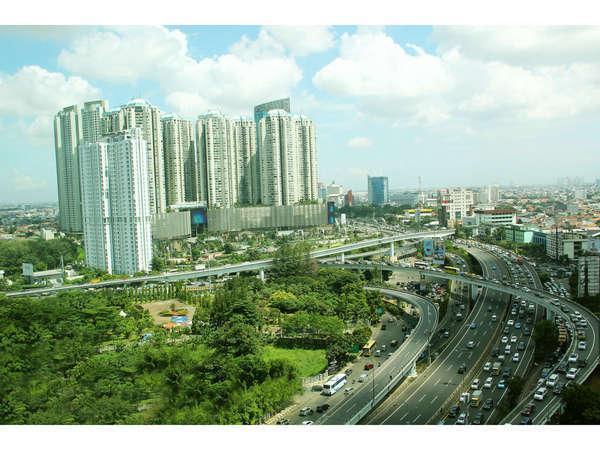 Twin Plaza Hotel Jakarta - Pemandangan kota