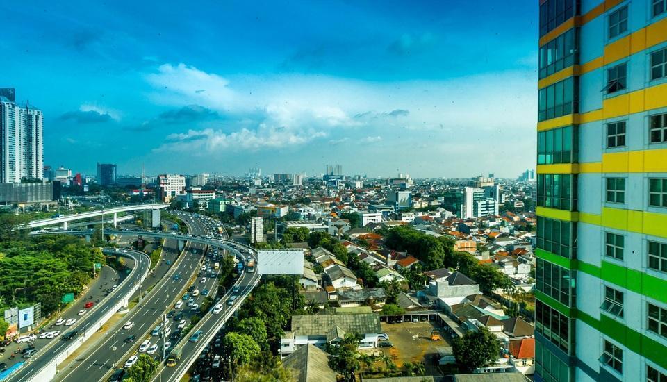 Twin Plaza Hotel Jakarta - Pemandangan kota dari kamar