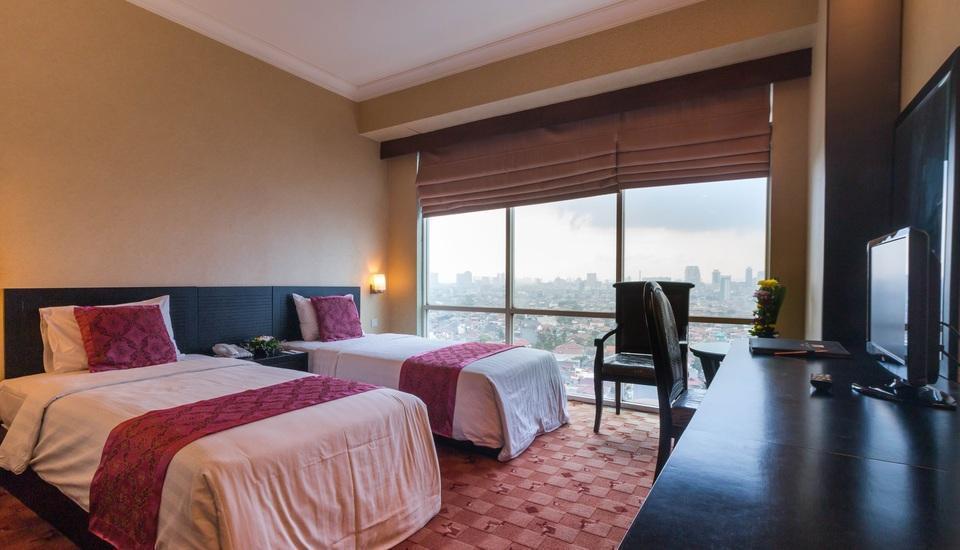 Twin Plaza Hotel Jakarta - Kamar Deluxe PROMO
