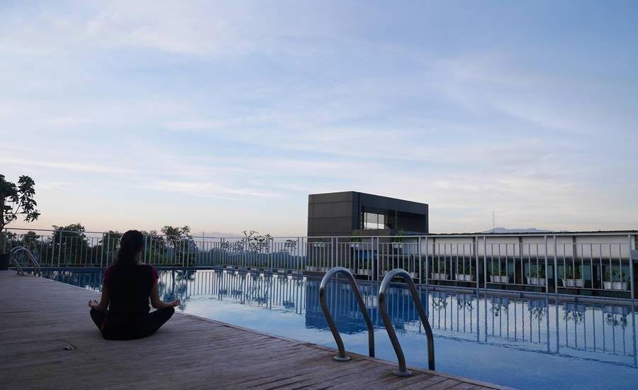 Grand Tjokro Bandung - Swimming Pool