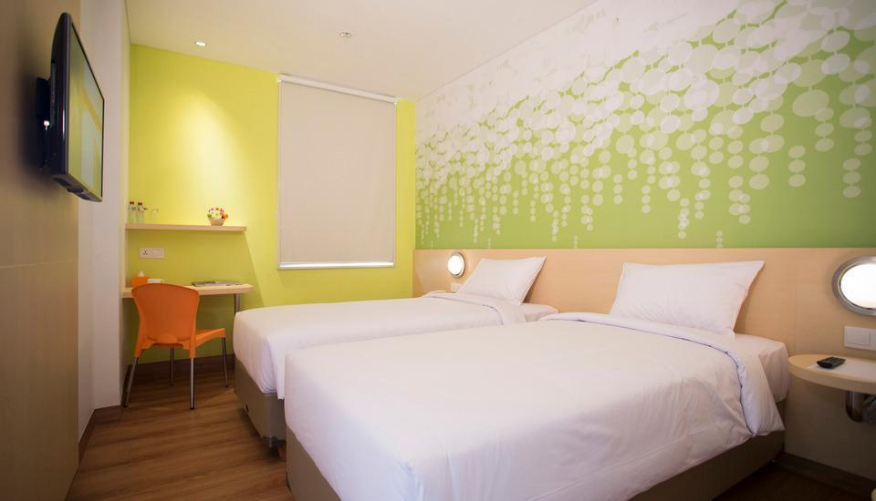 Zest Hotel Batam - Zest Twin Room Only Regular Plan