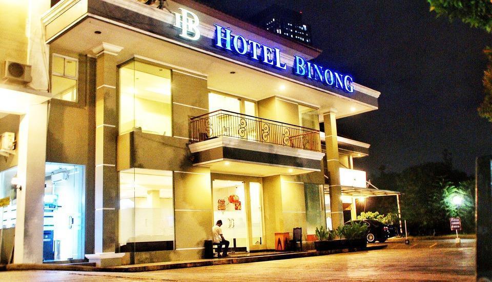Hotel Binong Tangerang - building