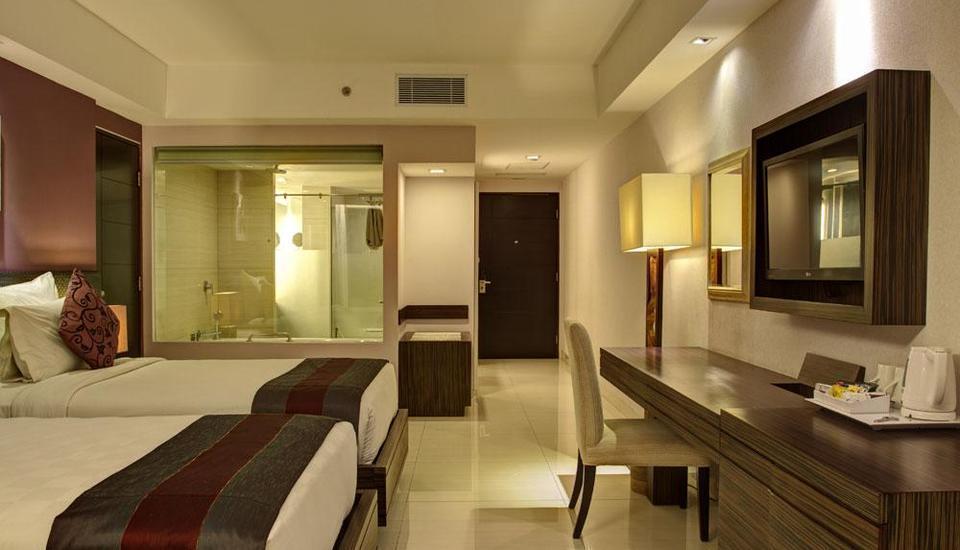 Singkenken Hotel Bali - tempat tidur Twin
