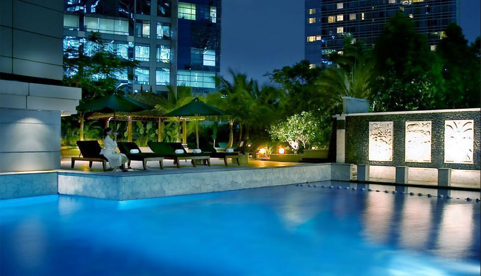 JW Marriott Jakarta - Kamar Deluks, pemandangan kota Regular Plan