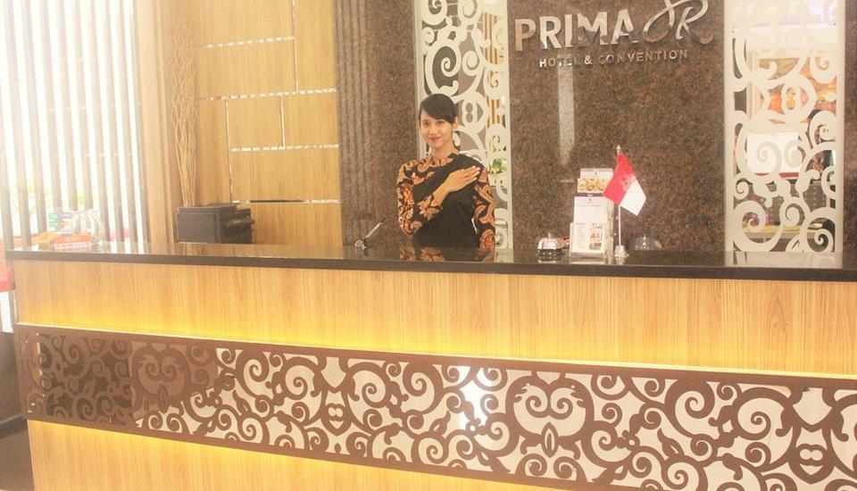 Prima SR Hotel & Convention  Yogyakarta - Reception