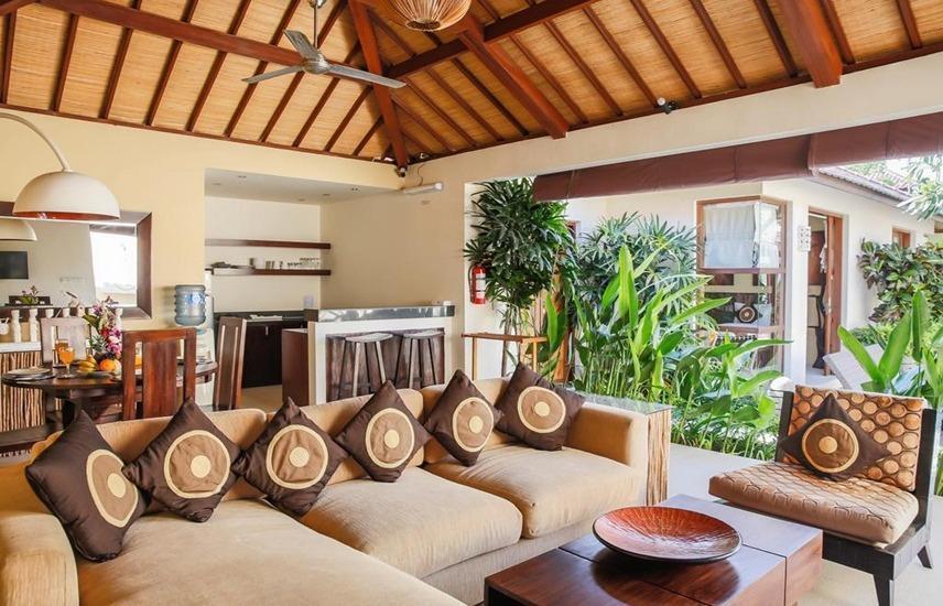 Samana Villas Bali - Ruang tamu