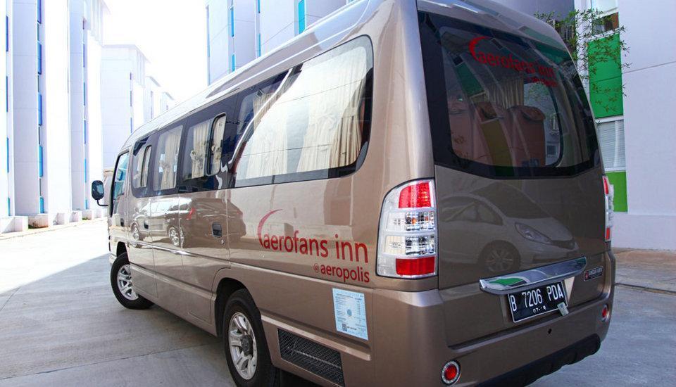 De Green Inn @aeropolis Tangerang - Bus Antar-Jemput