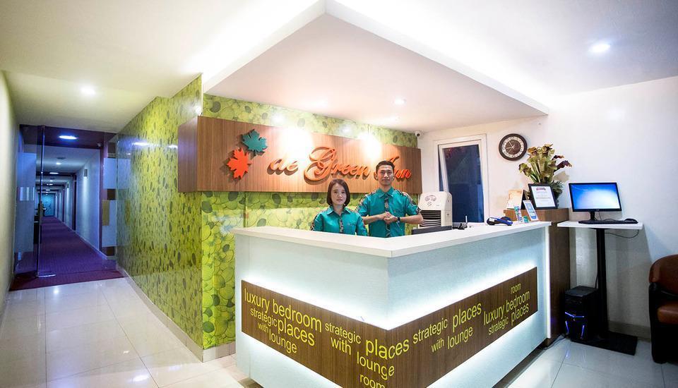 De Green Inn @aeropolis Tangerang - resepsionis