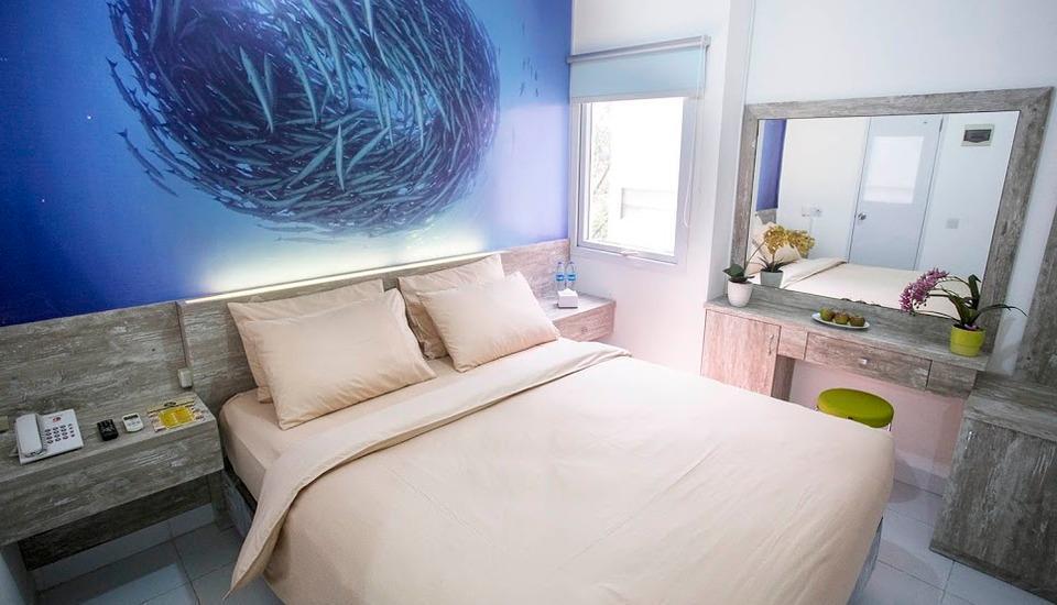 De Green Inn @aeropolis Tangerang - kamar double