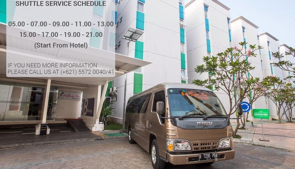 De Green Inn @aeropolis Tangerang - Shuttle bus