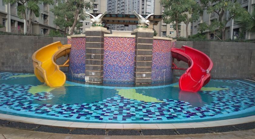 Apartement Mediterania 2 Tanjung Duren - Kolam Renang untuk anak-anak