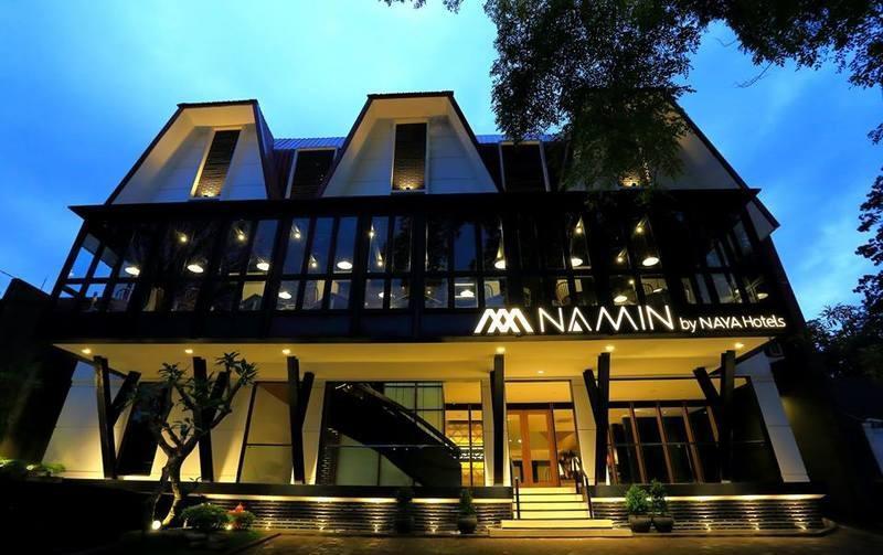 Namin Dago Hotel Bandung - Tampilan Luar Hotel