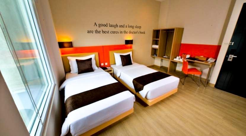 Big Hotel Jakarta - Deluxe With View - No Smoking Regular Plan