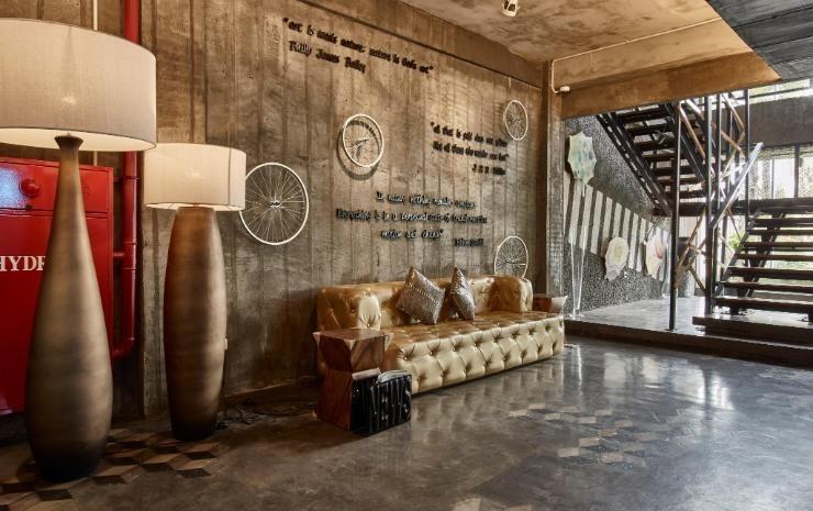 Couleur Hotel Cengkareng - loby