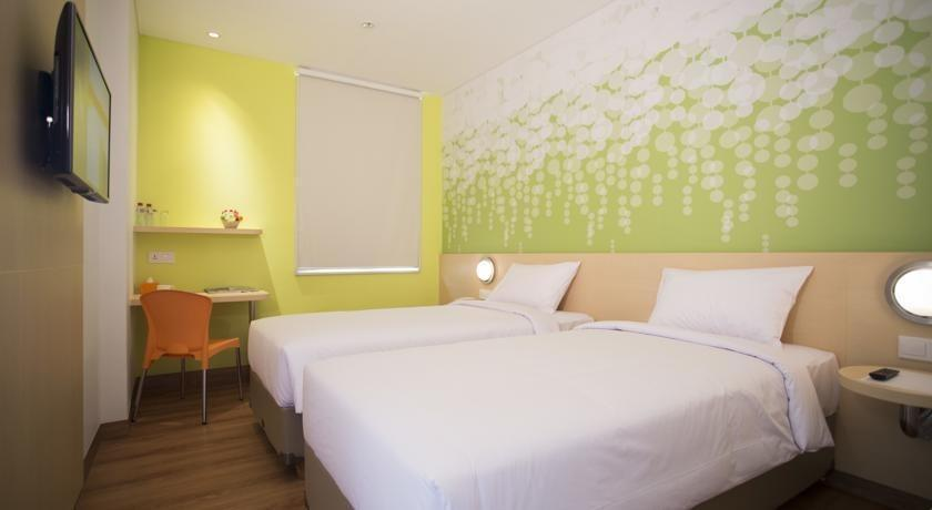 Zest Hotel Jemursari Surabaya - Zest Twin Room Regular Plan