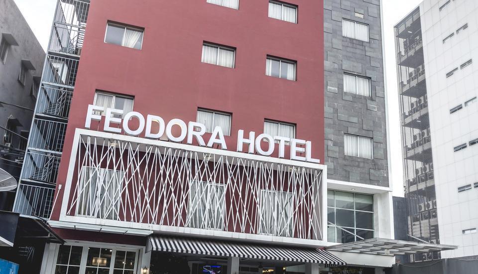 Feodora Hotel Grogol - Facade