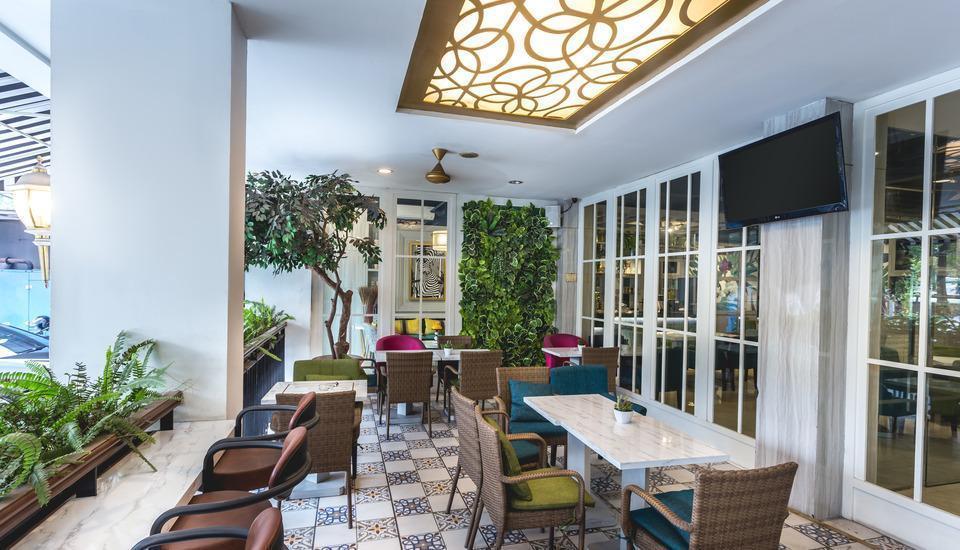 Feodora Hotel Grogol - Area tempat duduk