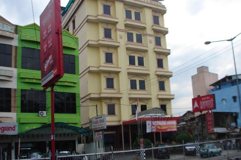 Hotel Antares Medan - Tampilan Luar Hotel