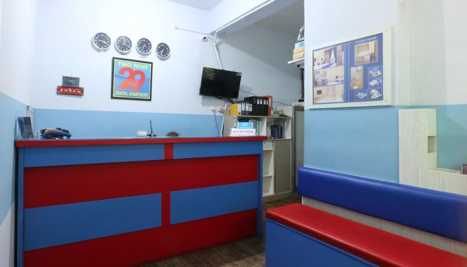 Two Nine Apartment Bekasi - receptionist 1