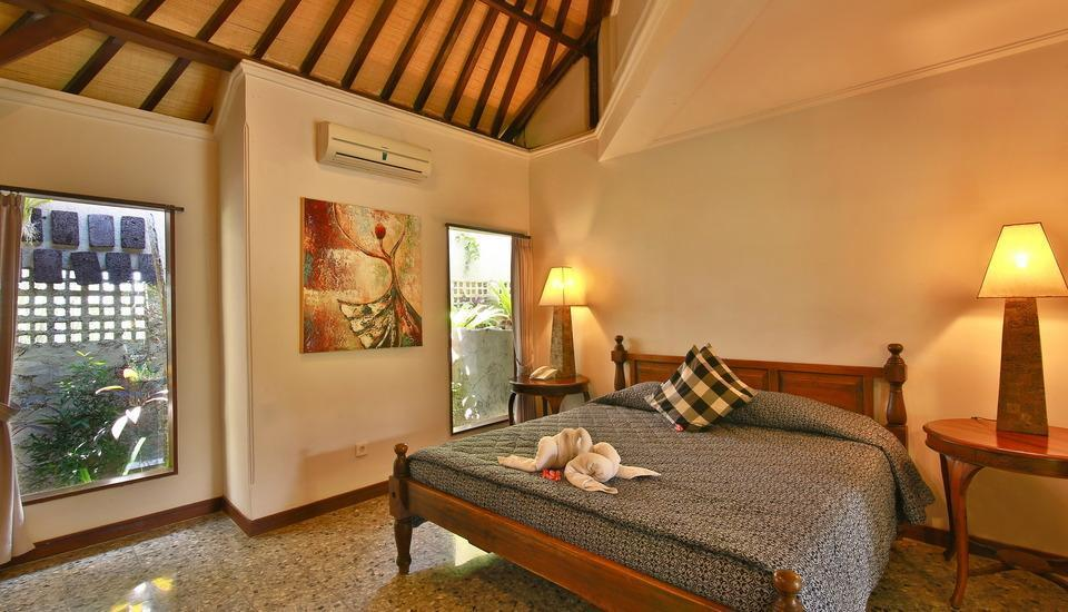 Taman Harum Cottages Bali - Deluxe Garden View Room Only Regular Plan
