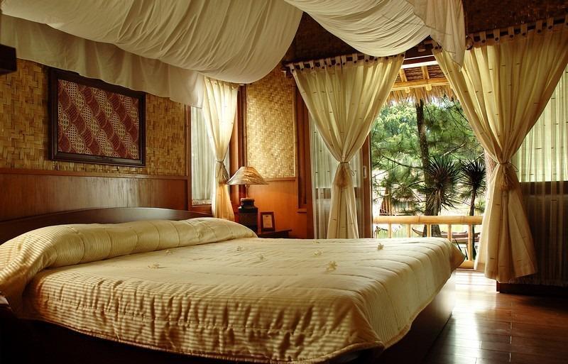 Kampung Sampireun   - bed room