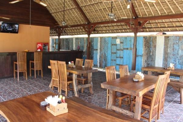 Dream Beach Kubu Lembongan - Area Restoran