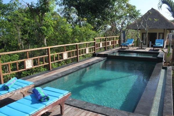 Dream Beach Kubu Lembongan - Area kolam renang