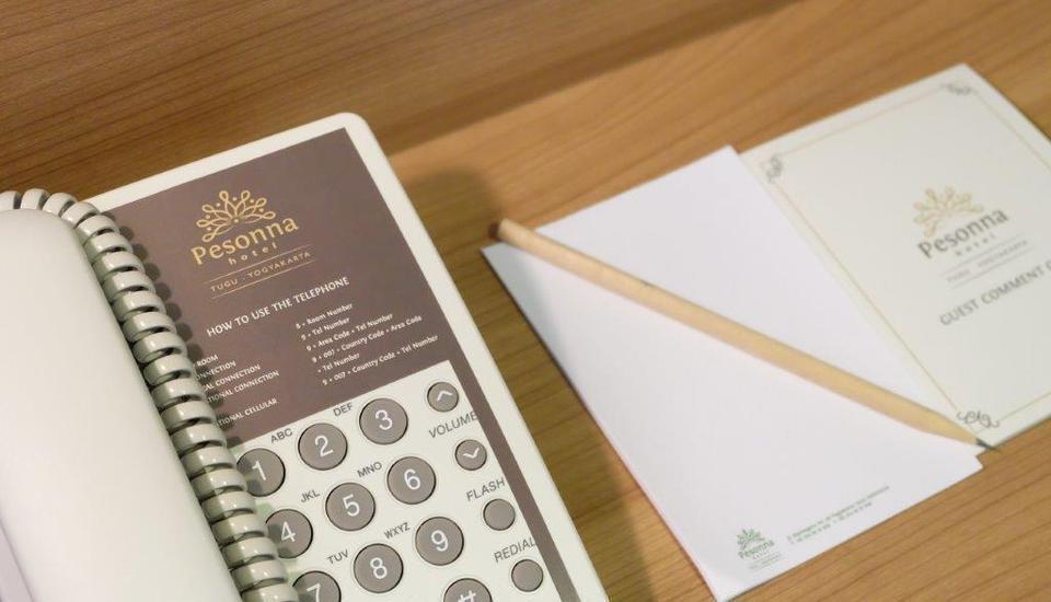 Pesonna Tugu Yogyakarta - Telepon di dalam kamar