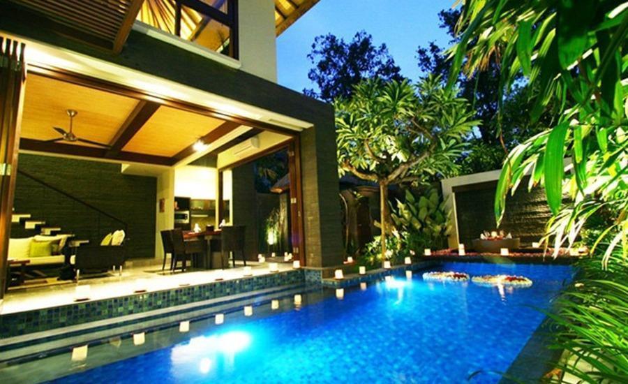 Le Jardin Villas Bali - Kolam Renang