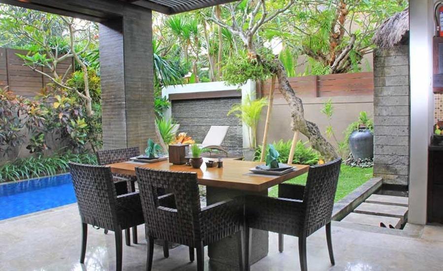 Le Jardin Villas Bali - Ruang makan