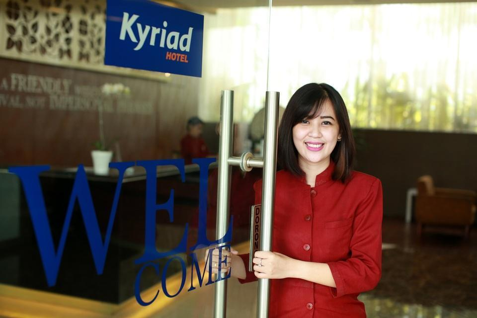 Kyriad Hotel Airport Jakarta - Welcome Greetings