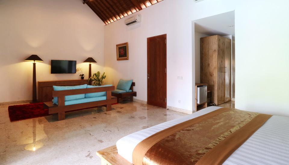 Kubu Taulan Villa Bali - Kamar Tidur