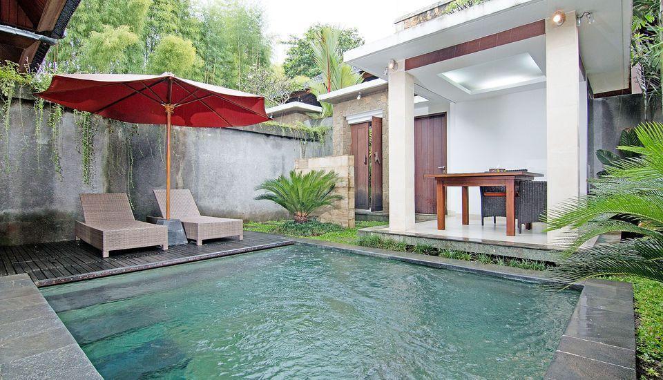 ZenRooms Pengosekan Ubud Villa Bali - Kolam Renang