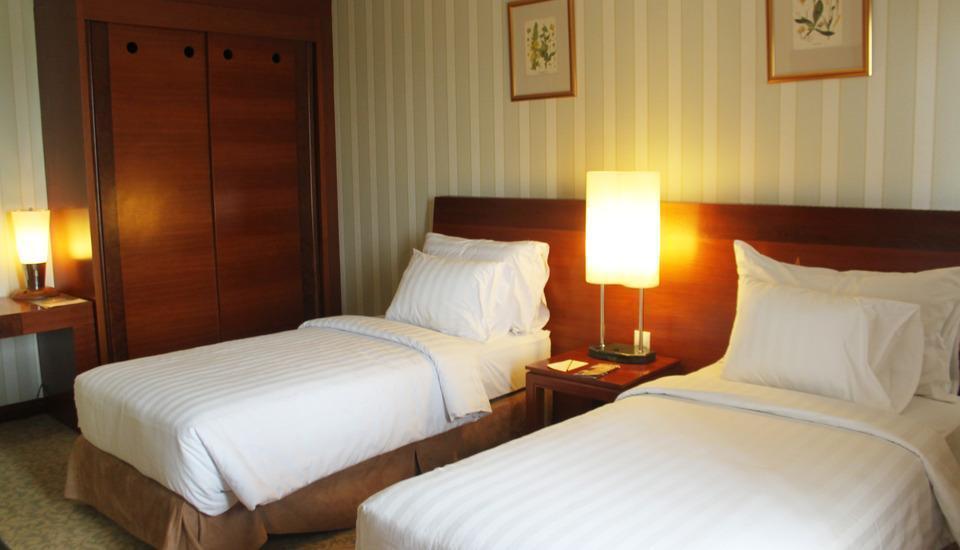 Labersa Grand Hotel Pekanbaru - Deluxe 2 Tempat Tidur Regular Plan