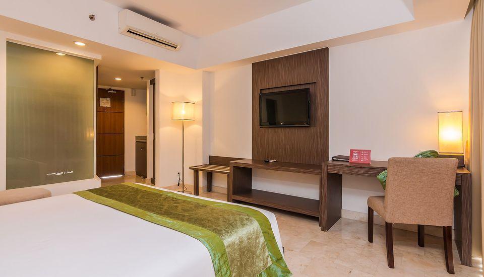 ZenRooms Raya Kuta 3 Bali - Tempat Tidur Double