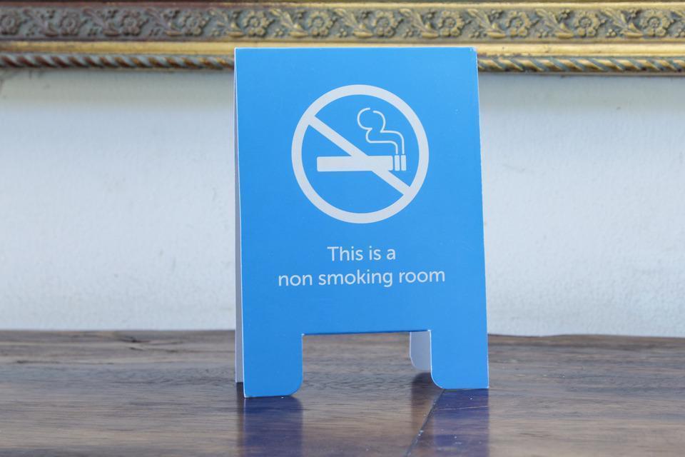 Airy Ubud Raya Andong Bali - Non Smoking Sign