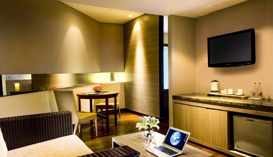 Hotel Santika Bandung - Ruang tamu