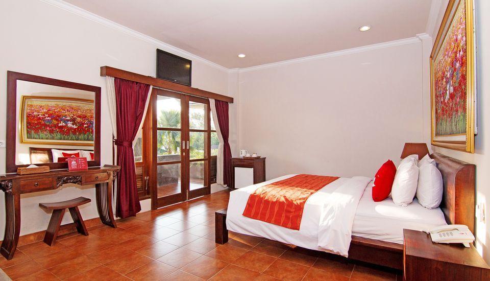 ZEN Premium Monkey Forest Ubud @Pundi Pundi - Tempat Tidur Double