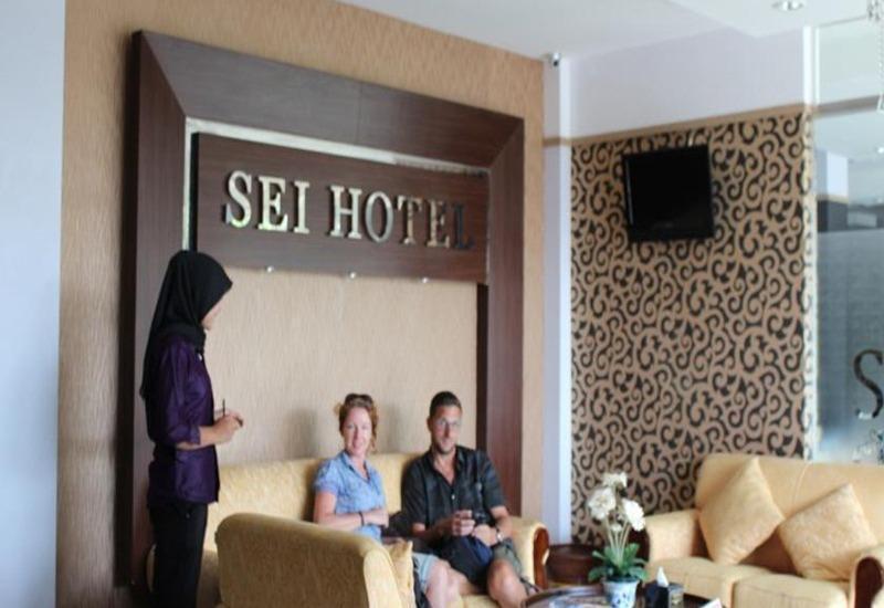 Sei Hotel Banda Aceh - Ruang tamu