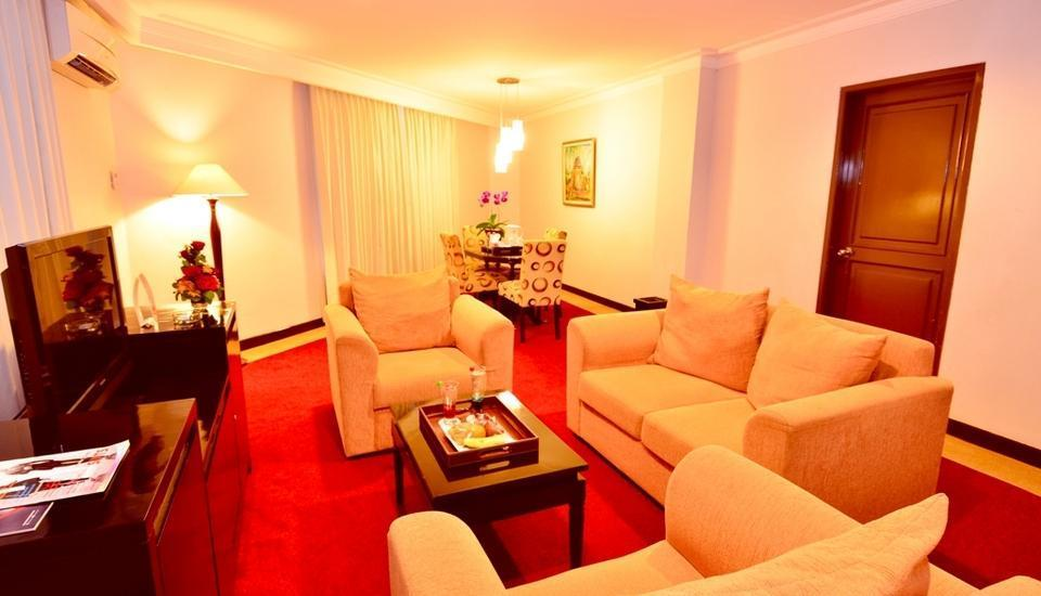 Garden Permata Hotel Bandung - Junior Suite Separated Living Room Regular Plan