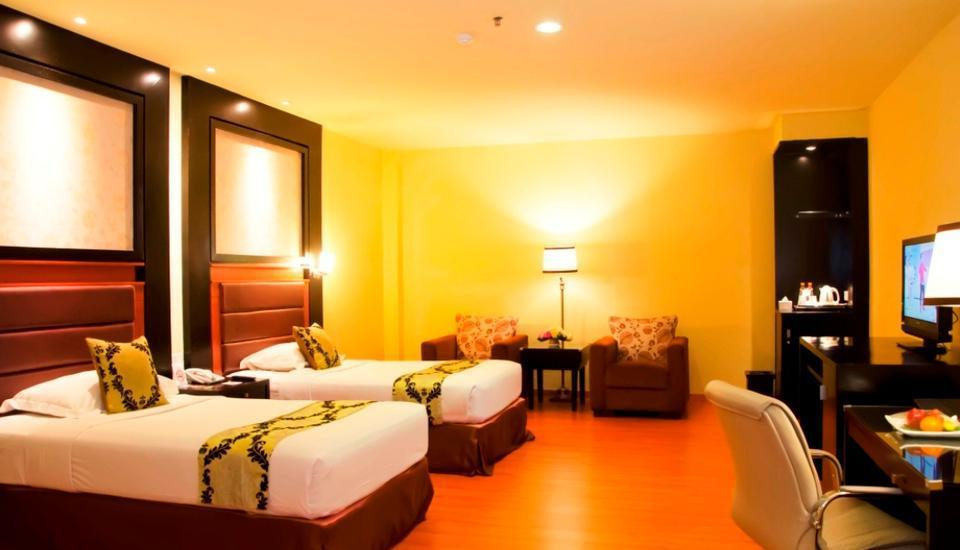 Garden Permata Hotel Bandung - Deluxe Suite No View Without Window Last Minute Deal 15% Off!