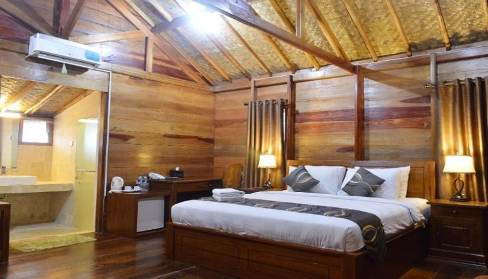 Highland Park Resort Bogor - Tree House capacity 2-6 persons with 1 Double Bed and 4 Sofa bed