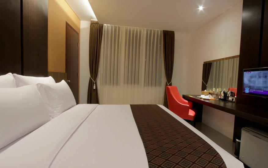 Ardan Hotel Bandung - Deluxe Double Room Only Regular Plan