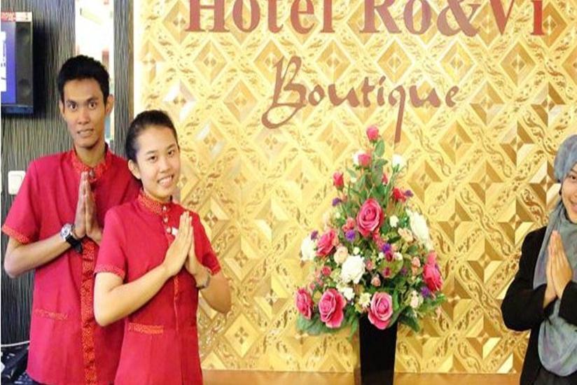 Hotel Rovi Boutique Jakarta - Resepsionis