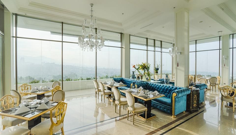 Art Deco Luxury Hotel & Residence Bandung - Restaurant