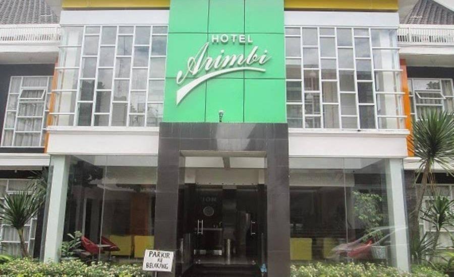 Hotel Arimbi Destik Bandung - Tampilan Luar Hotel