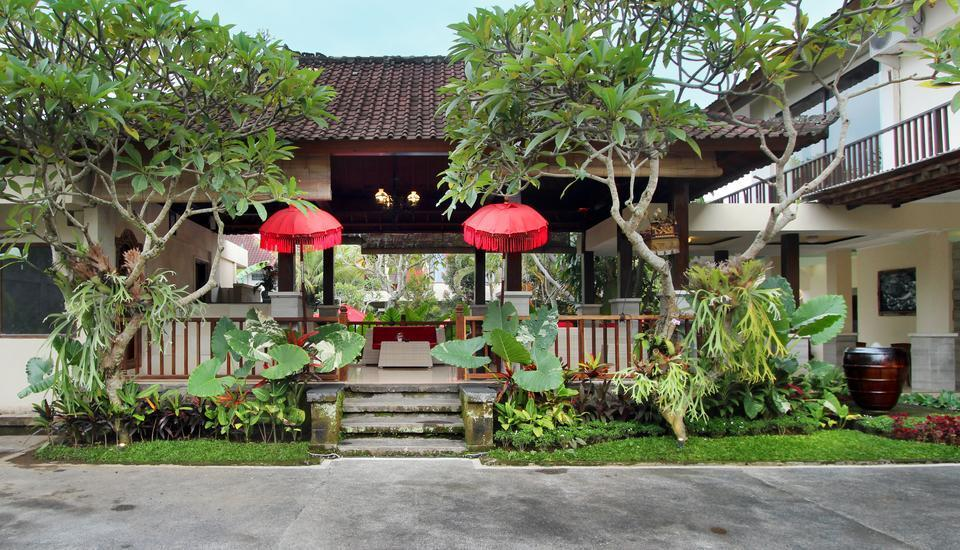 Putri Ayu Cottages Bali - Area parkir