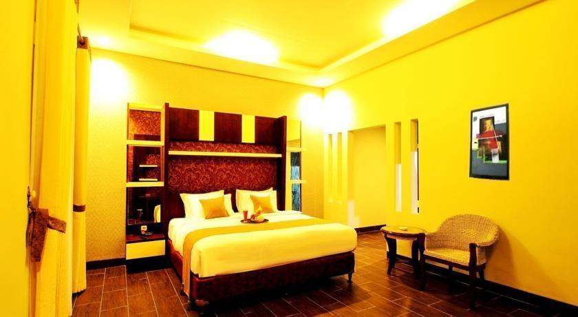 Green Tropical Village Hotel & Resort Belitung - Kamar tamu