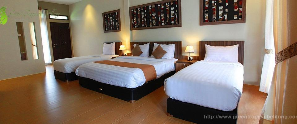 Green Tropical Village Hotel & Resort Belitung - Family Room Regular Plan